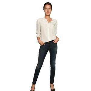 J Brand Super Skinny Blue Jeans Size 25